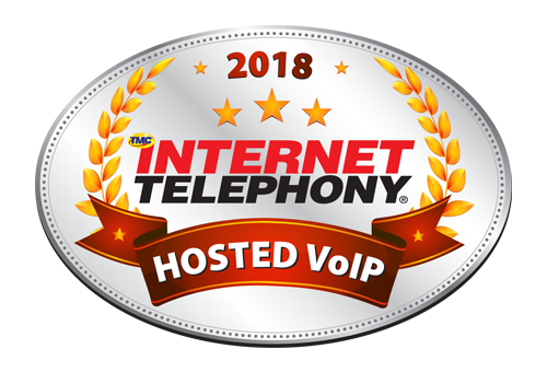 INTERNET TELEPHONY hosted VoIP Excellence award 2018 image