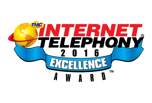 INTERNET TELEPHONY Excellence Award 2016 image