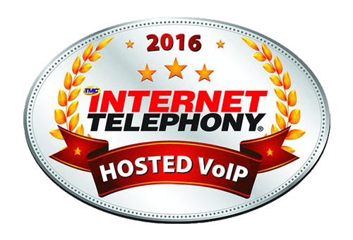 INTERNET TELEPHONY hosted VoIP Excellence award 2016 image