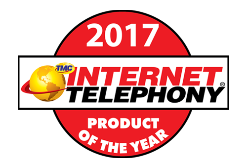 INTERNET TELEPHONY product of the year award 2017 image