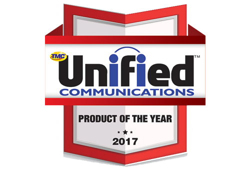 Unified Communications product award 2017 image