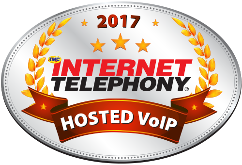 INTERNET TELEPHONY hosted VoIP Excellence award 2017 image