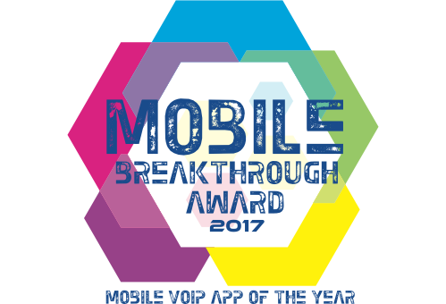 Mobile VoIP App of the Year award 2017 image