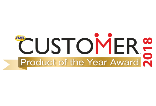 CUSTOMER Product of the Year Award 2018 image