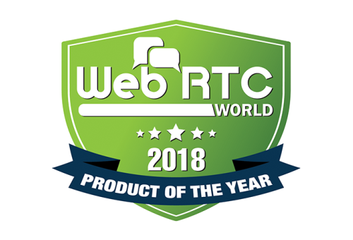 WebRTC Product of the Year Award 2018 image