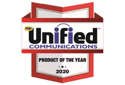Unified communication Product of the year award2020