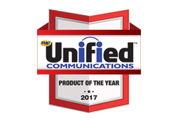 award for unified Communications product 2017